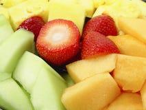 Frucht-Mehrlagenplatte Stockbild