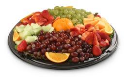 Frucht-Mehrlagenplatte Stockfotos