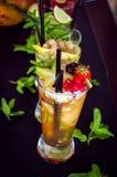 Frucht Mojito Lizenzfreie Stockbilder