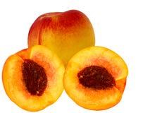 Frucht nektarine Stockfoto