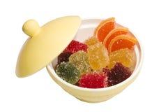 Frucht-Paste Bonbons (Süßigkeiten) Stockfotografie