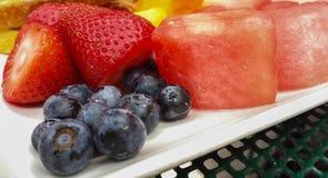 Frucht-Platte Lizenzfreie Stockfotografie
