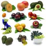 Frucht-Probeflasche Stockfoto