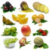 Frucht-Probeflasche Stockfotografie