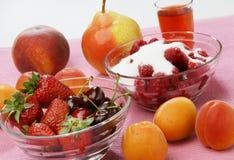 Frucht salat Lizenzfreies Stockbild