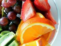 Frucht-Schüssel Lizenzfreies Stockbild