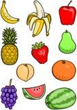 Frucht-Set Lizenzfreies Stockfoto