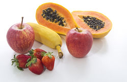 Frucht sind zum Körper nützlich Lizenzfreies Stockfoto