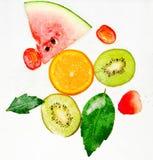 Frucht-Soda stockbilder