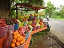 Frucht-Stand in Bali lizenzfreie stockbilder