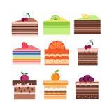 Frucht sweets3 vektor abbildung