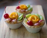 Frucht-Törtchen Stockfotos
