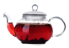 Frucht-Tee lizenzfreie stockbilder