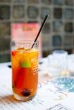 Frucht-Tee Lizenzfreie Stockfotos