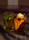 Frucht-Tee Stockbild