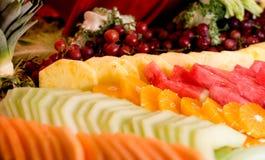 Frucht-Tellersegment Stockfotografie