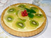 Frucht-Torte Stockbild