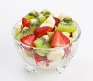 Frucht- und Beerensalat Stockfotografie