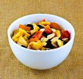 Frucht und Nüsse Lizenzfreies Stockfoto