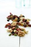 Frucht und Nüsse Lizenzfreie Stockfotos