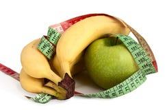 Frucht und Taille stockbilder