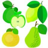 Frucht und Vitamine hilfreich Lizenzfreies Stockbild