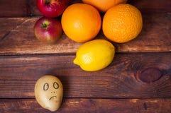Frucht und Wachs lizenzfreies stockfoto