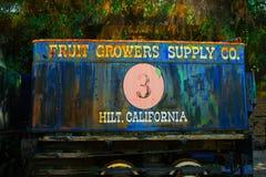 Frucht-Züchter-Versorgungs-Firmeneisenbahnauto #3 lizenzfreie stockbilder