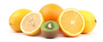 Fruchtanordnung stockbild