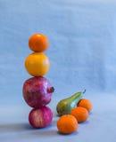 Fruchtbalance Stockfoto
