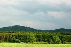 Fruchtbare Landschaft Stockfotos