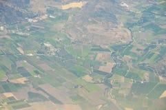 Fruchtbares Ackerland - Chile Lizenzfreie Stockfotos