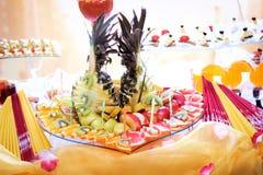 Fruchtbehälter Stockfoto