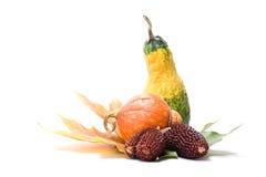 Fruchtblätter und -gemüse Stockfotografie