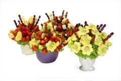 Fruchtblumensträuße Lizenzfreie Stockbilder
