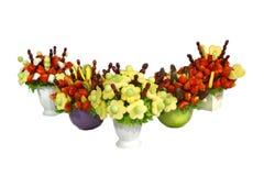 Fruchtblumensträuße Lizenzfreie Stockfotos