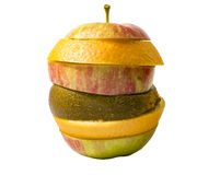 Fruchtcocktail des Apfels Stockfotografie