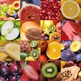 Fruchtcollage Lizenzfreies Stockfoto