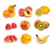 Fruchtcollage Stockfoto