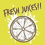 Fruchtdesignhintergrund Lizenzfreies Stockbild