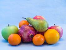 Fruchtfarbstillleben Lizenzfreie Stockfotos