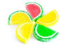 Fruchtgelee stockbilder
