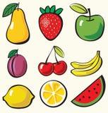 Fruchthintergrund Lizenzfreies Stockbild