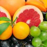 Fruchthintergrund Stockbild