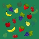 Fruchthintergrund Lizenzfreies Stockfoto