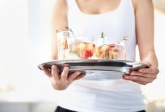 Fruchtige und köstliche Getränke Lizenzfreie Stockbilder