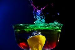 Fruchtiges Spritzen Stockbild