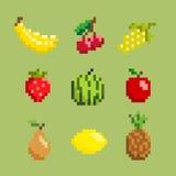 Fruchtikonensatz Lizenzfreie Abbildung