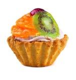 Fruchtkleiner kuchen Stockfoto