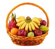 Fruchtkorb Lizenzfreies Stockfoto